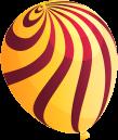 Gelber Ballon