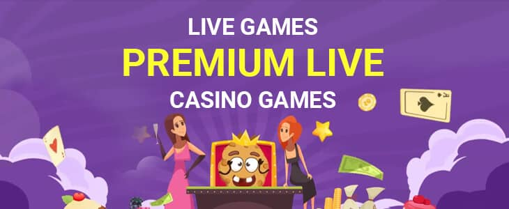 Cookie Casino Live Games